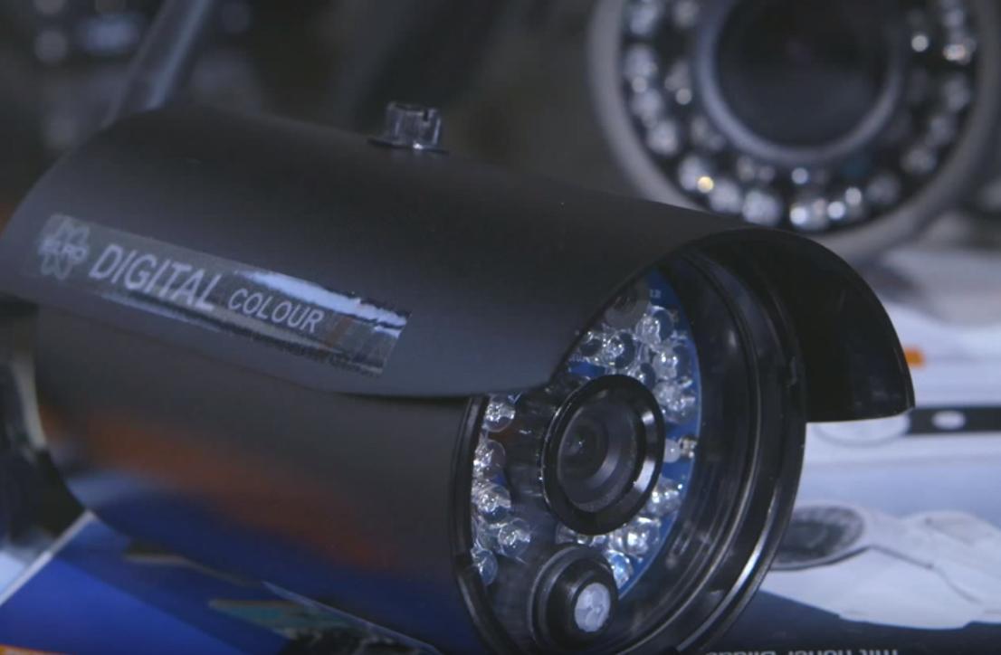 Alarmanlage mit Videoüberwachung