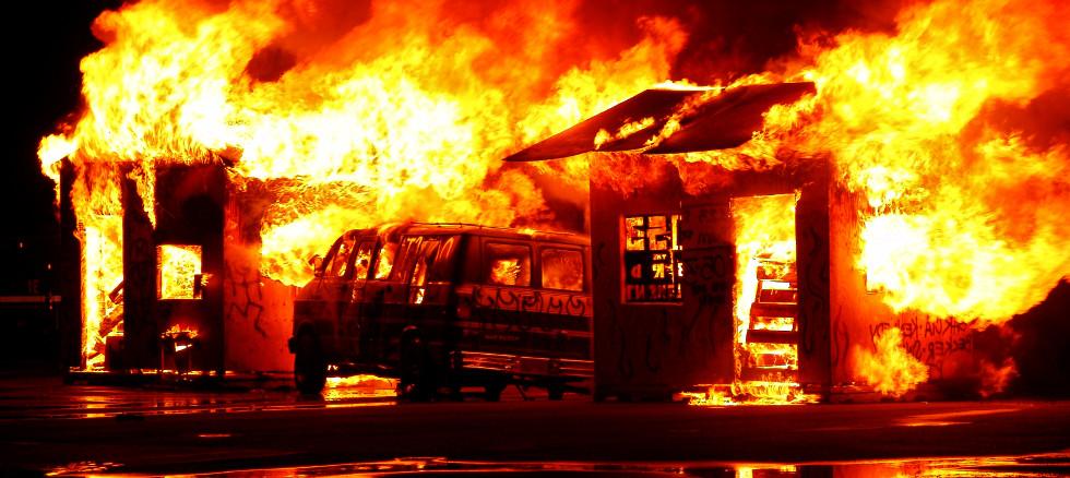 Feuer im Haus - Brandschutz nötig