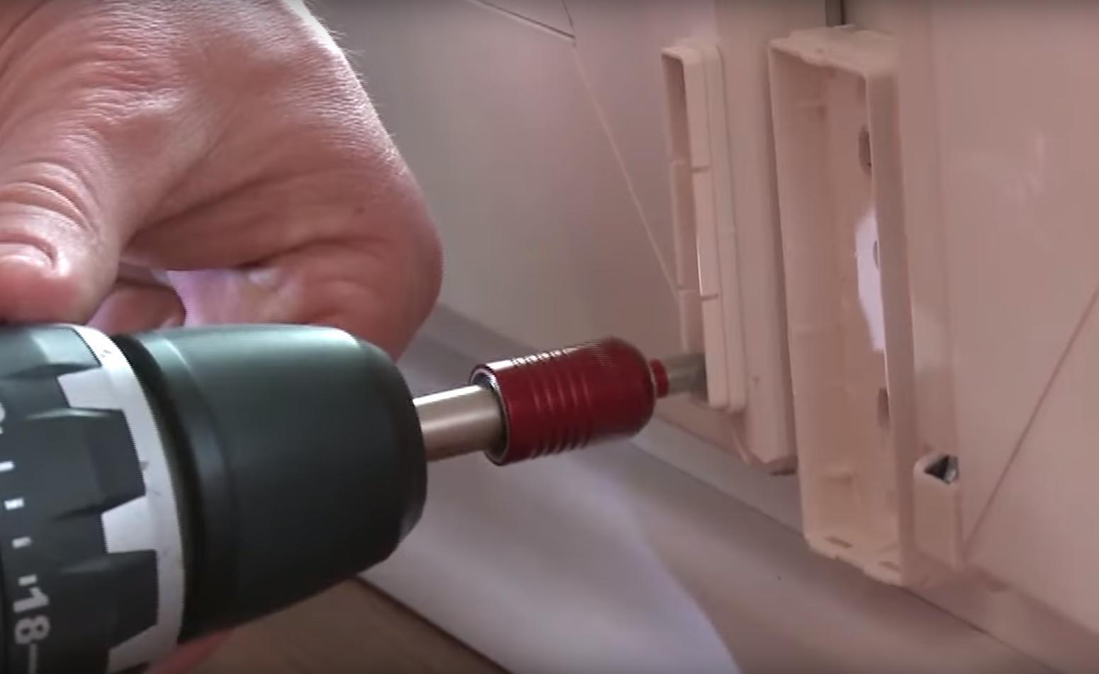 Fenstersicherheit Sensoren anbringen