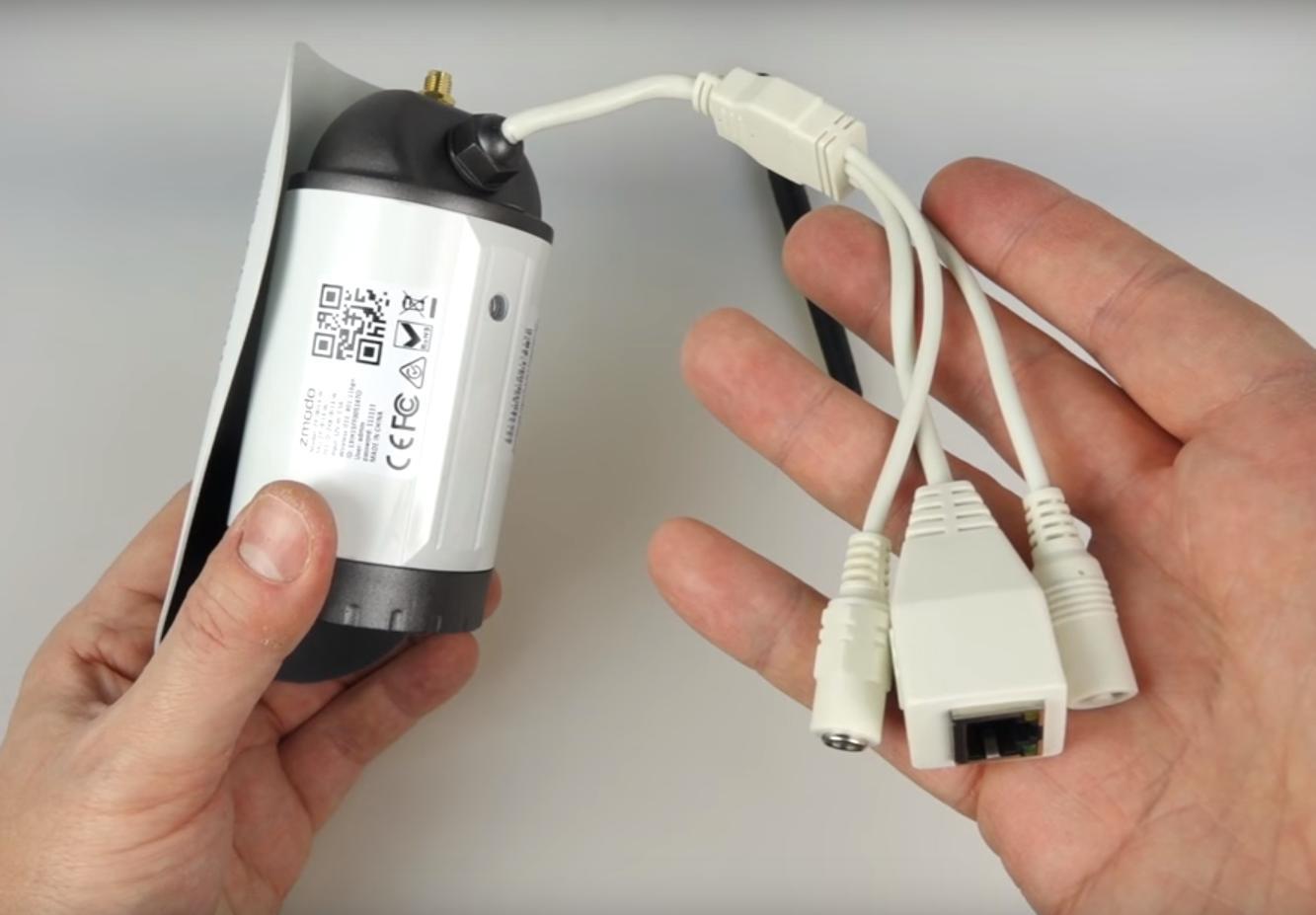 Kabel für die Videoüberwachung